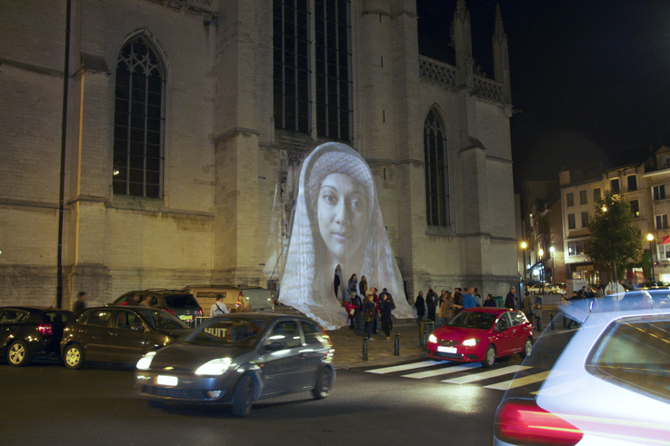 Awakening of Mary Nuit Blanche Brussels 4